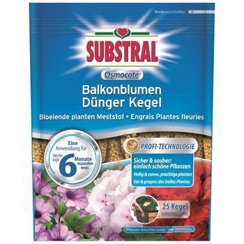Substral Osmocote Balkonblumen Dünger Kegel 25 Stk