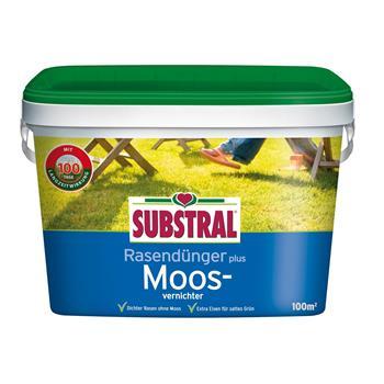 Substral Rasendünger plus Moosvernichter 4 kg für 100 qm