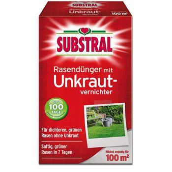 Substral Rasen-Dünger mit Unkrautvernichter 2 kg für 100 qm