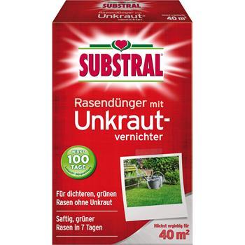 Substral Rasen-Dünger mit Unkrautvernichter 800 g für 40 qm