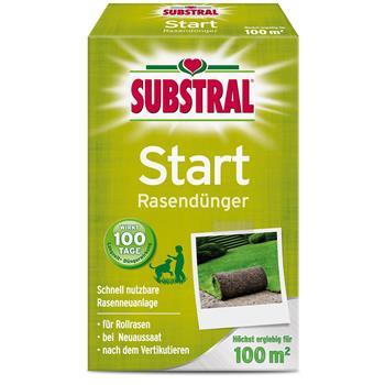 Substral Start Rasen-Dünger 2 kg für 100 qm