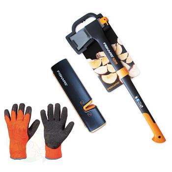 fiskars splitting axe x25 xsharp axe and knife sharpener. Black Bedroom Furniture Sets. Home Design Ideas